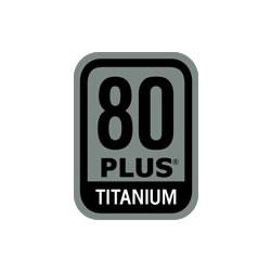 80 Plus Taitanium 認証